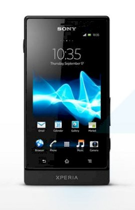 Sony Xperia Sola (MT27i Pepper) Black