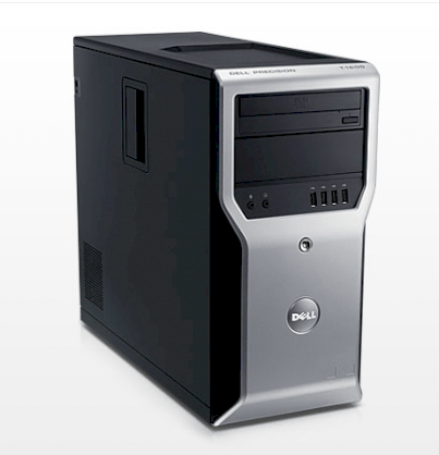 Dell Precision T1600 Tower Workstation E3-1225 (Intel Xeon E3-1225 3.10Ghz, RAM 4GB, HDD 1TB, VGA NVIDIA Quadro 600, PC-Dos, Không kèm màn hình)