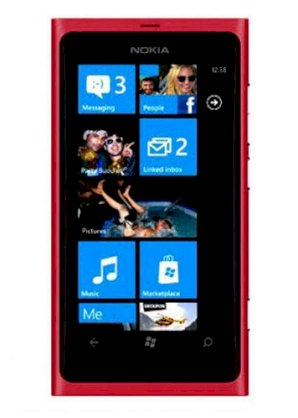 Nokia Lumia 800 (Nokia Sea Ray) Red