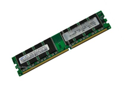 IBM - DDR2 - 4GB (2 x 2GB) - Bus 400Mhz - PC2 3200 kit CL3 ECC REGISTERED DIMM