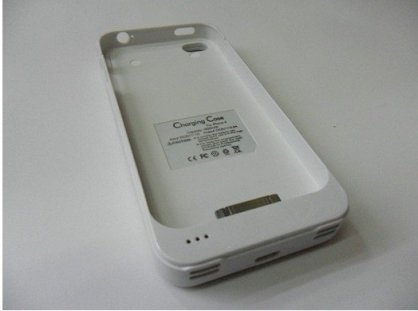 Power Charger External Battery Case for iPhone 4 1900mAh