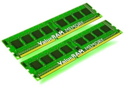 Kingston ValueRAM 4GB Kit (2x2GB) DDR3 1333MHz CL9 240-Pin DIMM (KVR1333D3S8N9HK2/4G)