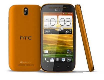 HTC Desire SV Yellow
