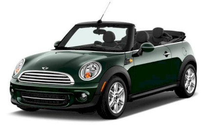 Mini Cooper Convertible 1.6 AT 2012
