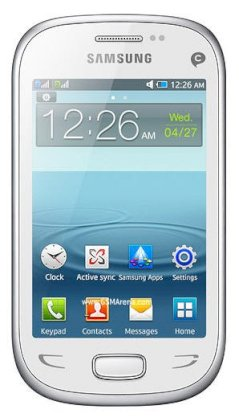 Samsung Star Deluxe Duos S5292 White