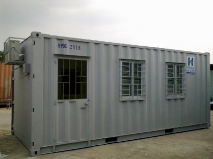 Container văn phòng Happer Container 20 feet 70%