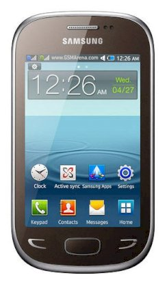 Samsung Star Deluxe Duos S5292 Brown