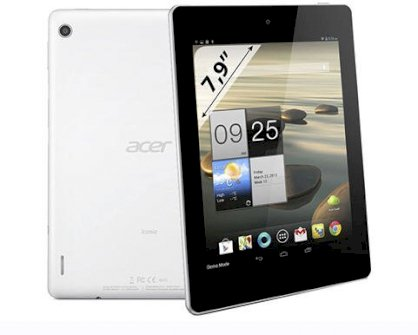 Acer Iconia A1-810 (ARM Cortex A9 1.2GHz, 1GB RAM, 16GB Flash Driver, 7.9 inch, Android OS v4.2)