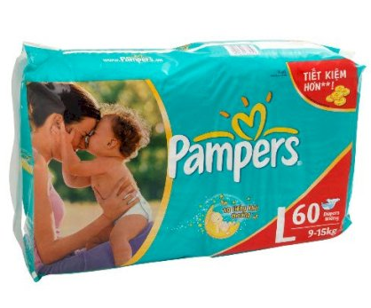 Bỉm Pampers L60
