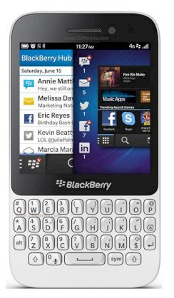 BlackBerry Q5 (BlackBerry R10) White