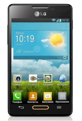 LG Optimus L4 Black
