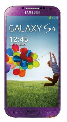 Samsung Galaxy S4 (Galaxy S IV / I9500) 64GB Purple