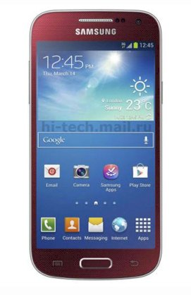 Samsung Galaxy S4 mini (Galaxy S IV mini / GT-I9192) Red