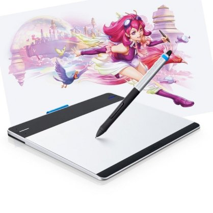 Bảng vẽ Wacom Intuos Manga Pen & Touch Tablet CTH-480/S1