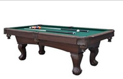 Pool Table 7' Foot 5'' Billiards Tables Home Balls Cues Rack Game Room Man Cave
