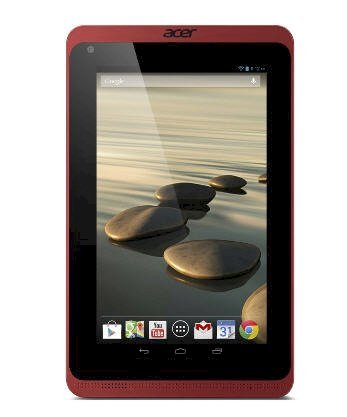 Acer Iconia B1-720 (Dual-Core 1.3GHz, 1GB RAM, 16GB Flash Driver, 7 inch, Android OS v4.2) Black