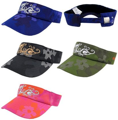 Dance With Dragon DWD 2013 Fall & Winter Flower Camouflage Jacquard Visor Cap