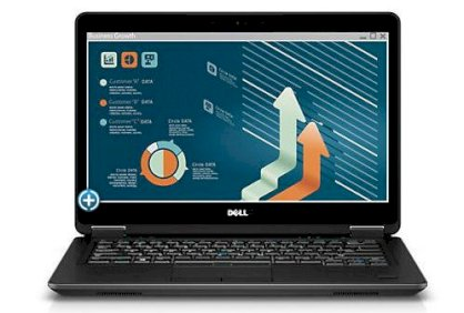 Dell Latitude E7440 (Intel Core i5-4300U 1.9GHz, 8GB RAM, 128GB SSD, VGA Intel HD Graphics 4400, 14 inch, Windows 7 Professional 64 bit) Ultrabook