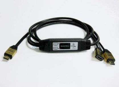 Bulid-in splitter 1X2 (HDMI type A to A and F) LJA-AF