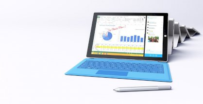 Microsoft Surface Pro 3 (Intel Core i5-4300U 1.9GHz, 4GB RAM, 128GB SSD, VGA Intel HD 4400, 12 inch, Windows 8.1 Pro)