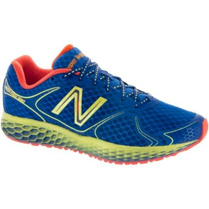 New Balance 980 Men's Blue/Green Gecko/Neon Orange