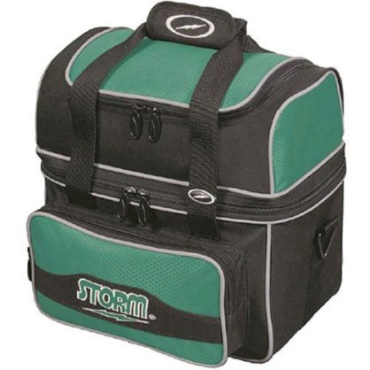 Storm 1 Ball Deluxe Flip Tote Green Bowling Bag