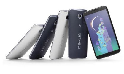 Motorola Nexus 6 (Motorola Nexus X/ Motorola XT1100) 64GB Blue Global model