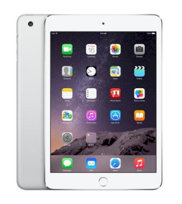 Apple iPad Mini 3 Retina 16GB iOS 8.1 WiFi 4G Cellular - Silver