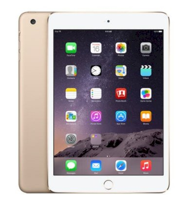 Apple iPad Mini 3 Retina 16GB iOS 8.1 WiFi 4G Cellular - Gold