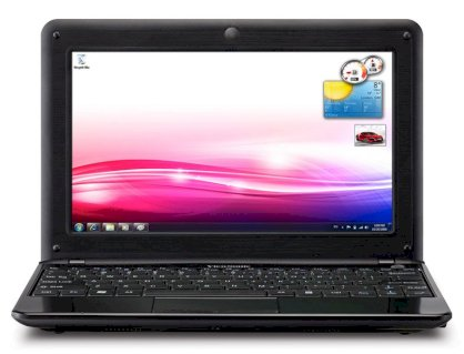Viewsonic ViewBook VNB104 (Intel Atom N450 1.66GHz, 2GB RAM, 160GB HDD, VGA Intel GMA 3150, 10.1 inch, Windows XP)