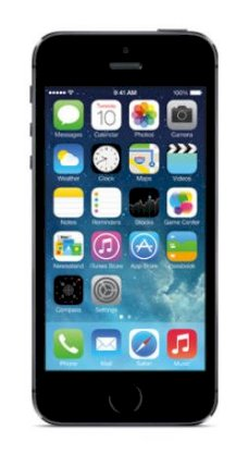Apple iPhone 5S 64GB Space Gray (Bản quốc tế)