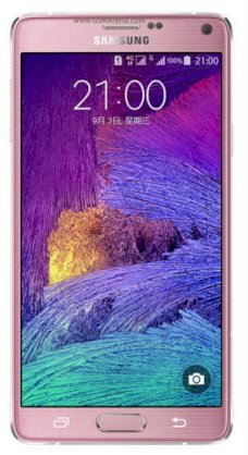 Samsung Galaxy Note 4 (Samsung SM-N910W8/ Galaxy Note IV) Blossom Pink for North America