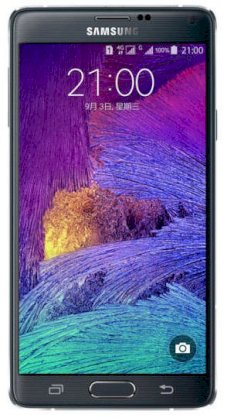 Samsung Galaxy Note 4 (Samsung SM-N910FD/ Galaxy Note IV) Charcoal Black for United Arab Emirates
