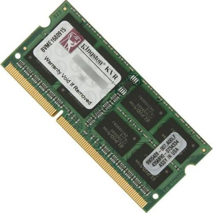Kingston 2GB DDR3-1600MHz Sodimm (KVR16S11S6/2)