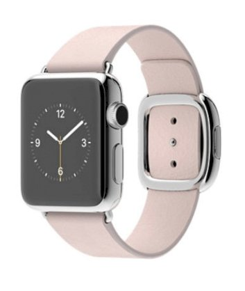 Đồng hồ thông minh Apple Watch 38mm Stainless Steel Case with Soft Pink Modern Buckle