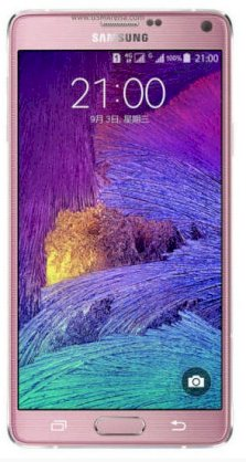 Samsung Galaxy Note 4 (Samsung SM-N910FQ/ Galaxy Note IV) Blossom Pink for Turkey