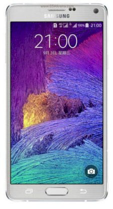 Samsung Galaxy Note 4 (Samsung SM-N910K/ Galaxy Note IV) Frosted White for Korea
