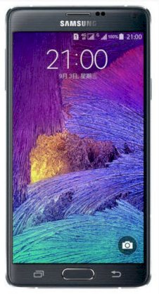 Samsung Galaxy Note 4 (Samsung SM-N910L/ Galaxy Note IV) Charcoal Black for Asia