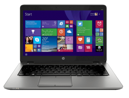 HP EliteBook 840 G2 (L3Z71UT) (Intel Core i5-5300U 2.3GHz, 8GB RAM, 500GB HDD, VGA Intel HD Graphics 5500, 14 inch, Windows 7 Professional 64 bit)