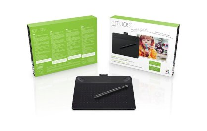 Bảng vẽ Wacom Intuos Pen & Touch Small CTH-490 Photo