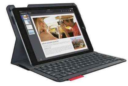 Logitech Type + Protective case with integrated keyboardfor iPad Air 2