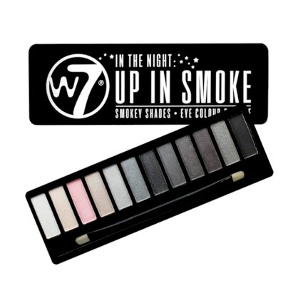 Set phấn mắt W7 Up in Smoke -  Eye Colour Palette - Made in UK