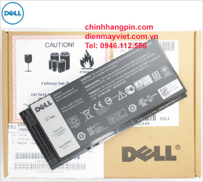 Pin laptop Dell R7PND (9 cells, 11.1V, 87Wh)