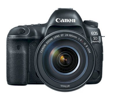 Canon EOS 5D Mark IV (EF 24-105mm F4 L IS II USM) Lens Kit