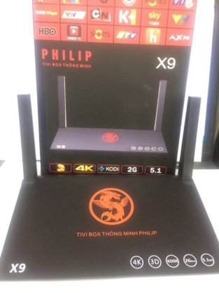 Android TV Box Philip X9 - RAM 1GB Android 5.1 4K