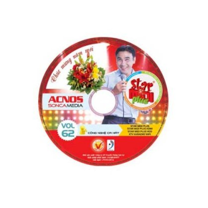 Đĩa DVD Karaoke Acnos Vol 62 Plus