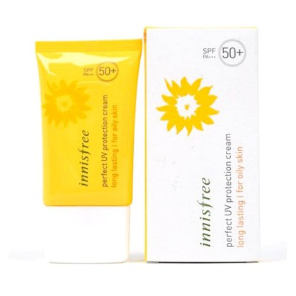 Kem chống nắng Innisfree perfect UV protection cream long lasting (for oily skin) SPF 50+ (50ml)
