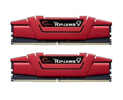 RAM G.Skill - DDR4 - 8GB (2 x 4GB) - Bus 2400MHz - PC 4 24000 (KIT) (F4-2400C15D-8GVR)