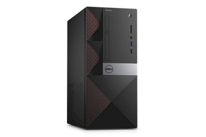 Máy tính để bàn Dell Vostro 3668 Mini-Tower (PWVK42) (Intel Core i5-7400 3.5 GHz, RAM 4GB, HDD 1TB, VGA Intel HD Graphics, Windows 10 Home Single Language 64-Bit, Không kèm màn hình)