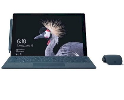 Microsoft Surface Pro 2017 (Intel Core i7-7660U 2.5GHz, RAM 8GB, SSD 256GB, VGA Intel Iris Plus Graphics 640, 12.3-inch, Windows 10 Pro 64bit)
